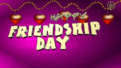 Greetings for Friendship Day event.