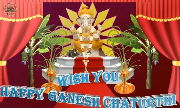 Greetings for Ganesh Chaturthi festival.