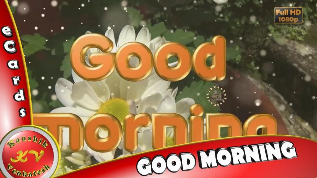 Greetings to wish Good Morning