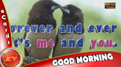 Greetings for every morning (romantic one)