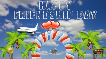 Greetings for the special event of friends - Friendship Day