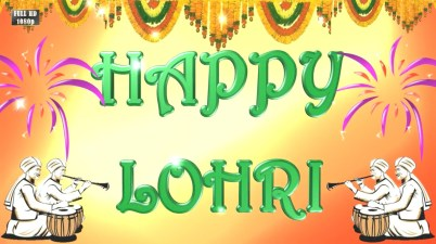 Greetings for Lohri festival