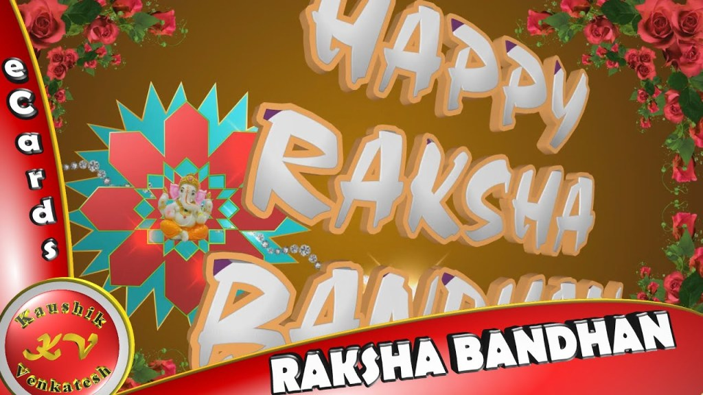 Greetings for the Hindu Brother-sister festival _Raksha Bandhan