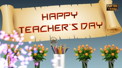 Greetings for Teachers Day