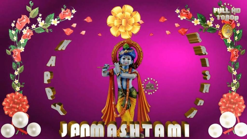Greetings for Janmashtami festival