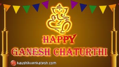 Greetings Image for Ganesh Chaturthi festival