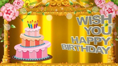 Greetings for Friend's Birthday
