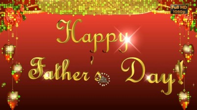 Greetings for Father's Day event