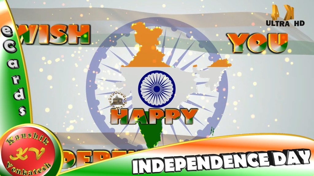 Greetings for Indian National Festival - Independence Day (15 August)