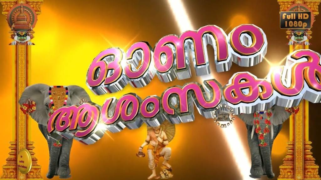 Greetings Image for Onam Festival