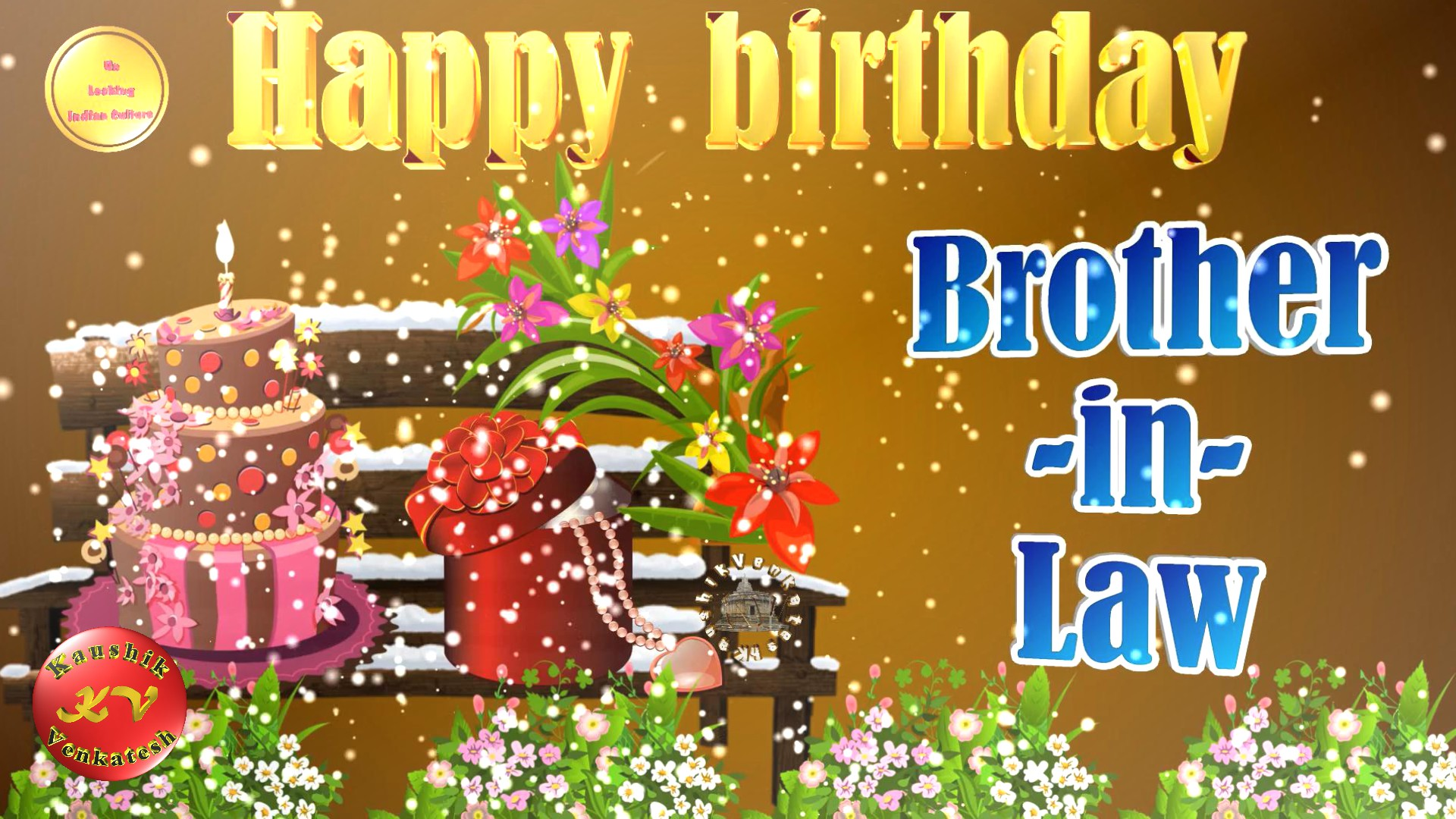 Greetings Image for the Birthday of your brother-in-law.
