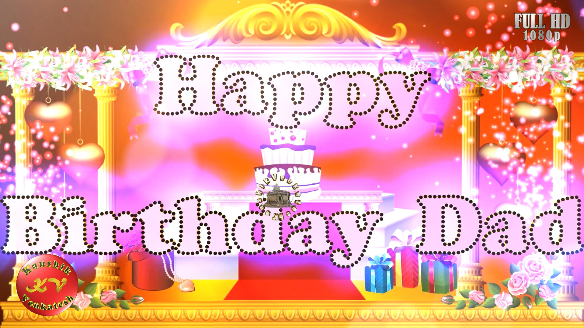 Greetings Image for the Special Occasion of Birthday. Happy Birthday Wishes Images for your loving Dad's Birthday