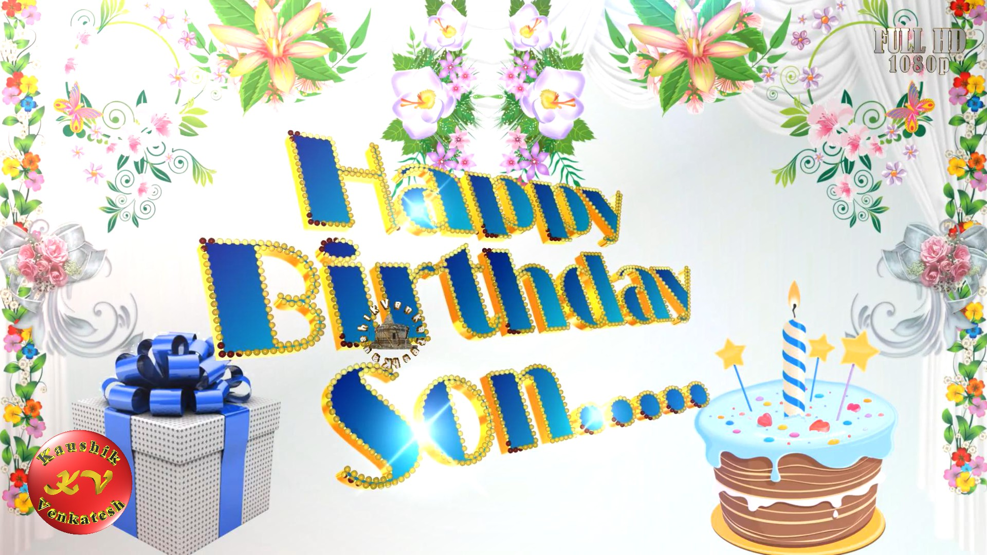 Greetings Image for the Special Occasion of Birthday. Happy Birthday Wishes Images for your loving Son's Birthday.