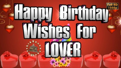 Greetings for Lovers Birthday
