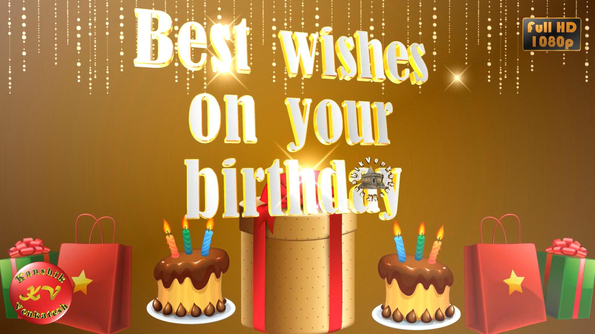 Latest Greetings Image for Birthday celebration.