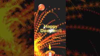 Greetings Video for Diwali Festival.