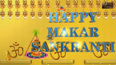 Full Hd Image of Makar sankranti festival.